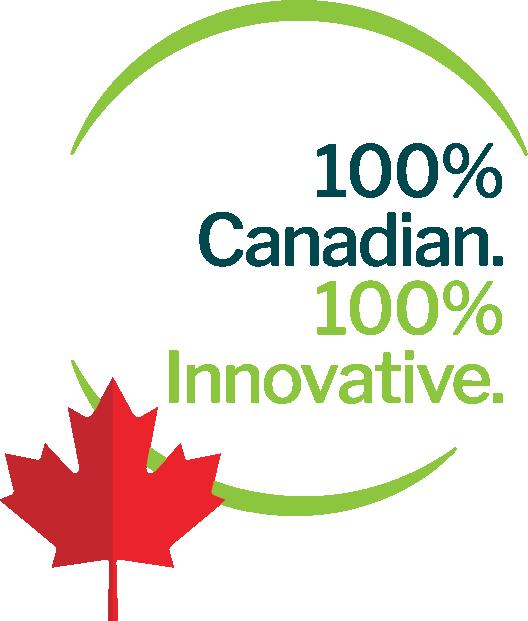 100% Canadian. 100% Innovative.