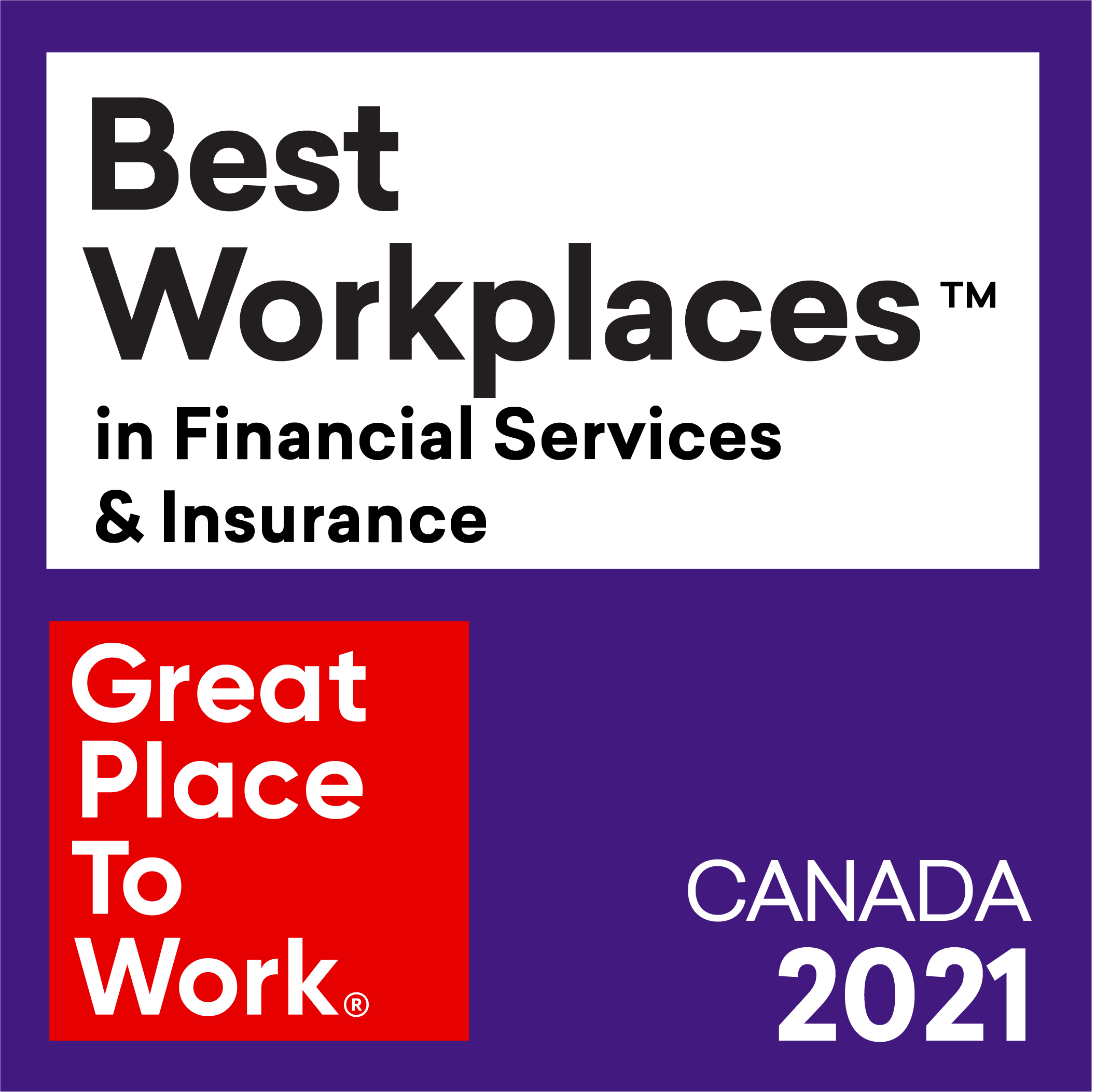 Best Workplaces in Financial Services & Insurance 2021-3