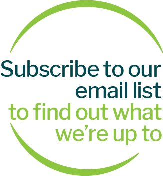 Subscribe to our email list to find out what we're up to.